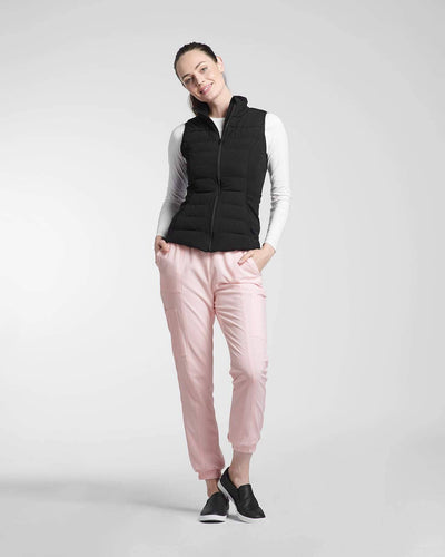 Scrub pants and Vest by Happily Scrubbed