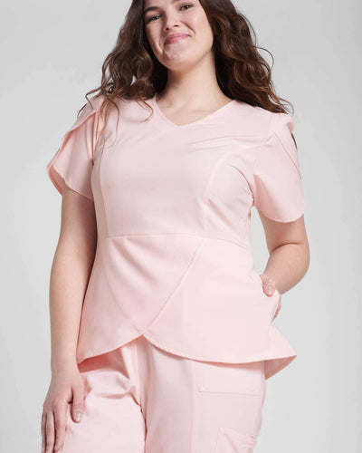 Pink Fashion Scrubs for Women