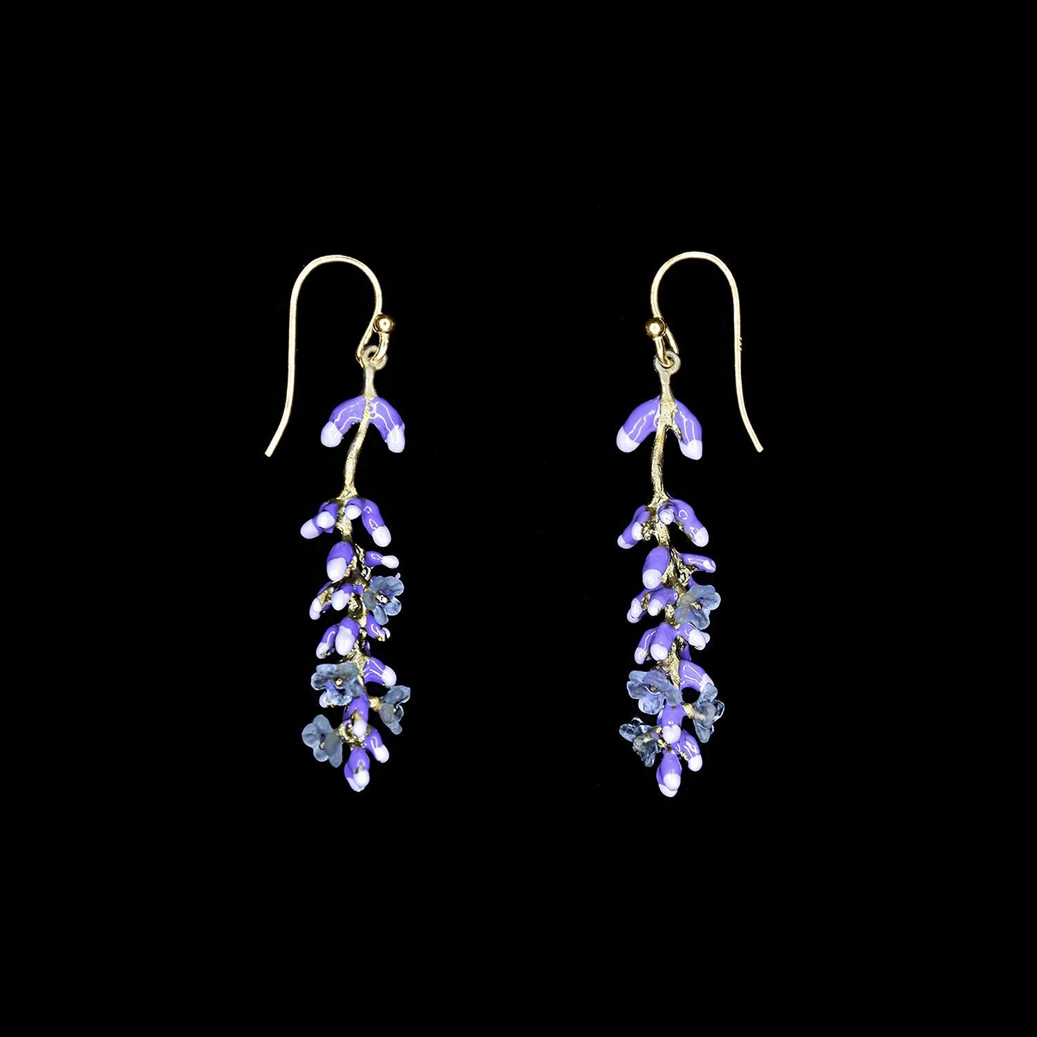 Lavender Earrings - Wire