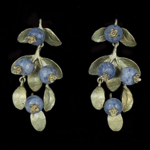 Blueberry Earrings - Drop