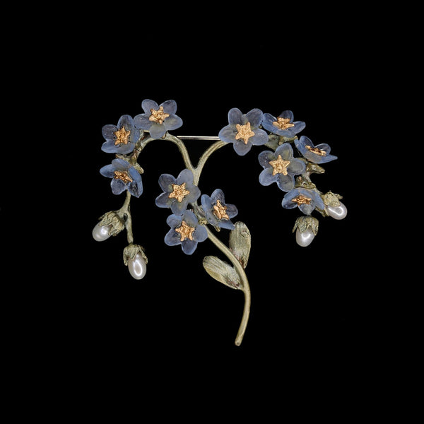 Forget Me Not Brooch