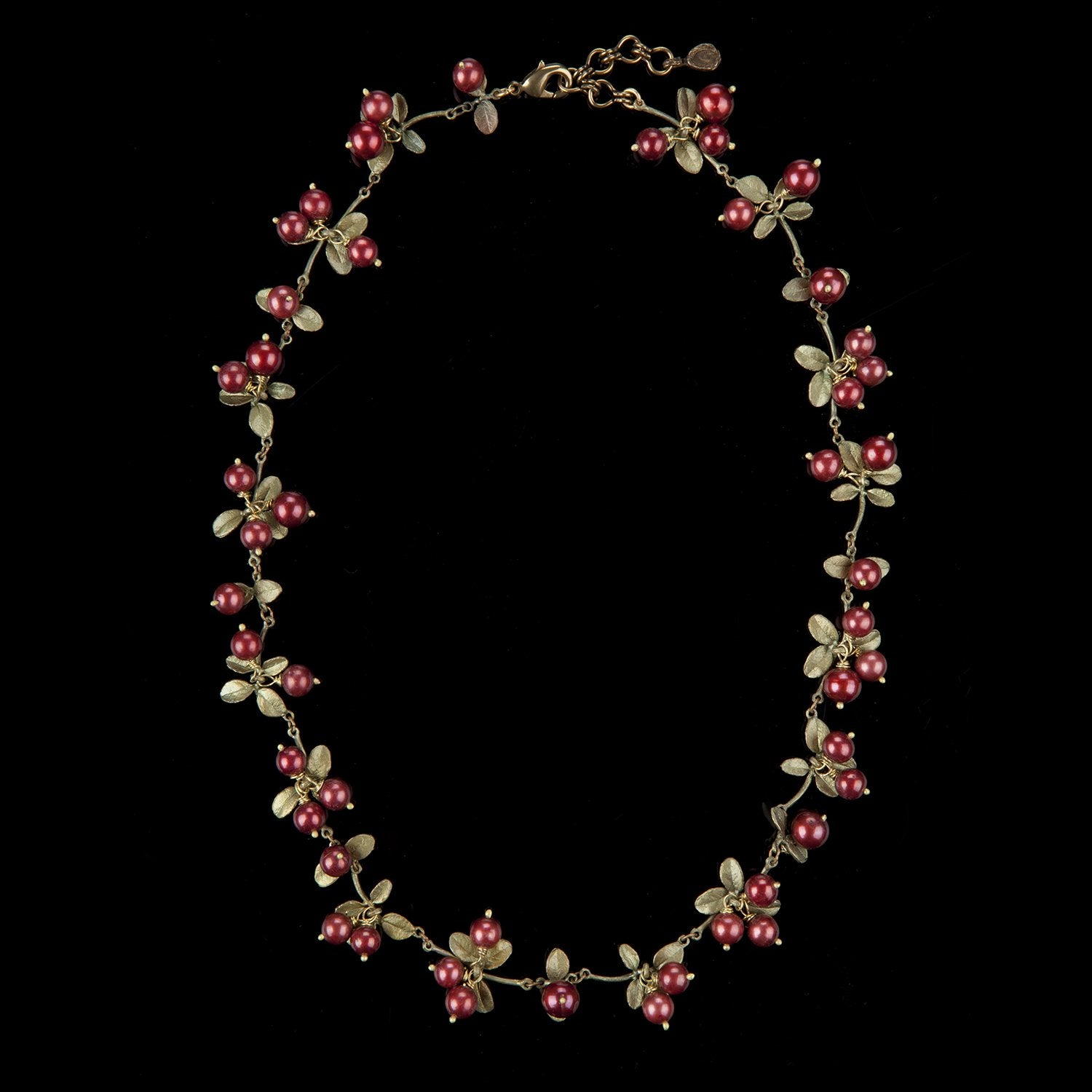 Cranberry Necklace - Cluster