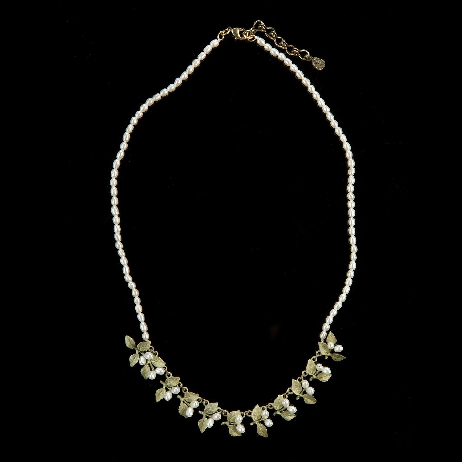 Myrtle Necklace - Pearl