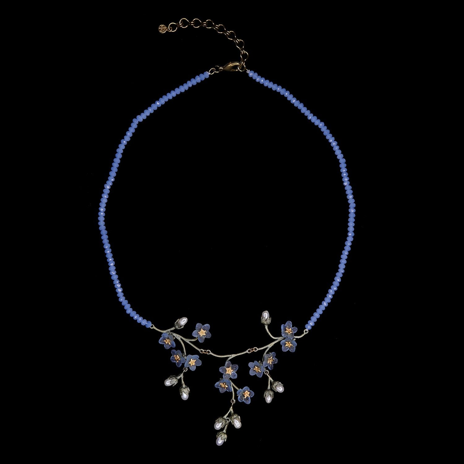 Forget Me Not Necklace - Triple Dangle