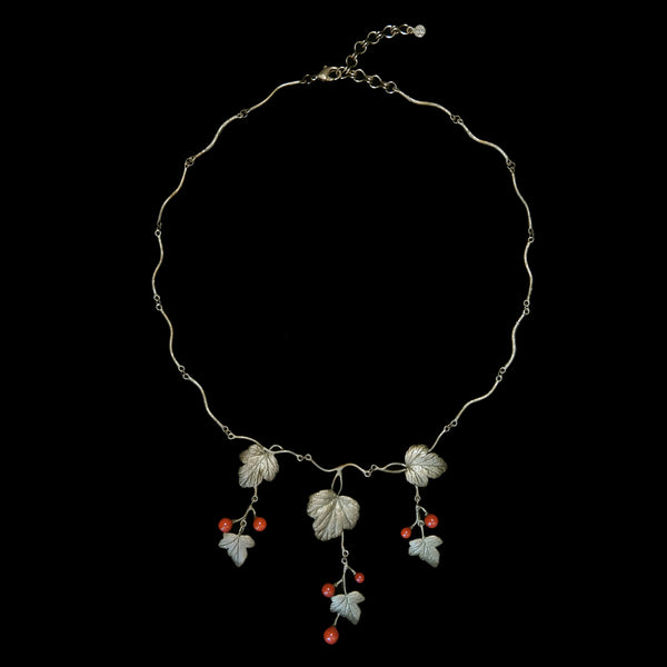 Goose Berry Necklace - Drop Twig