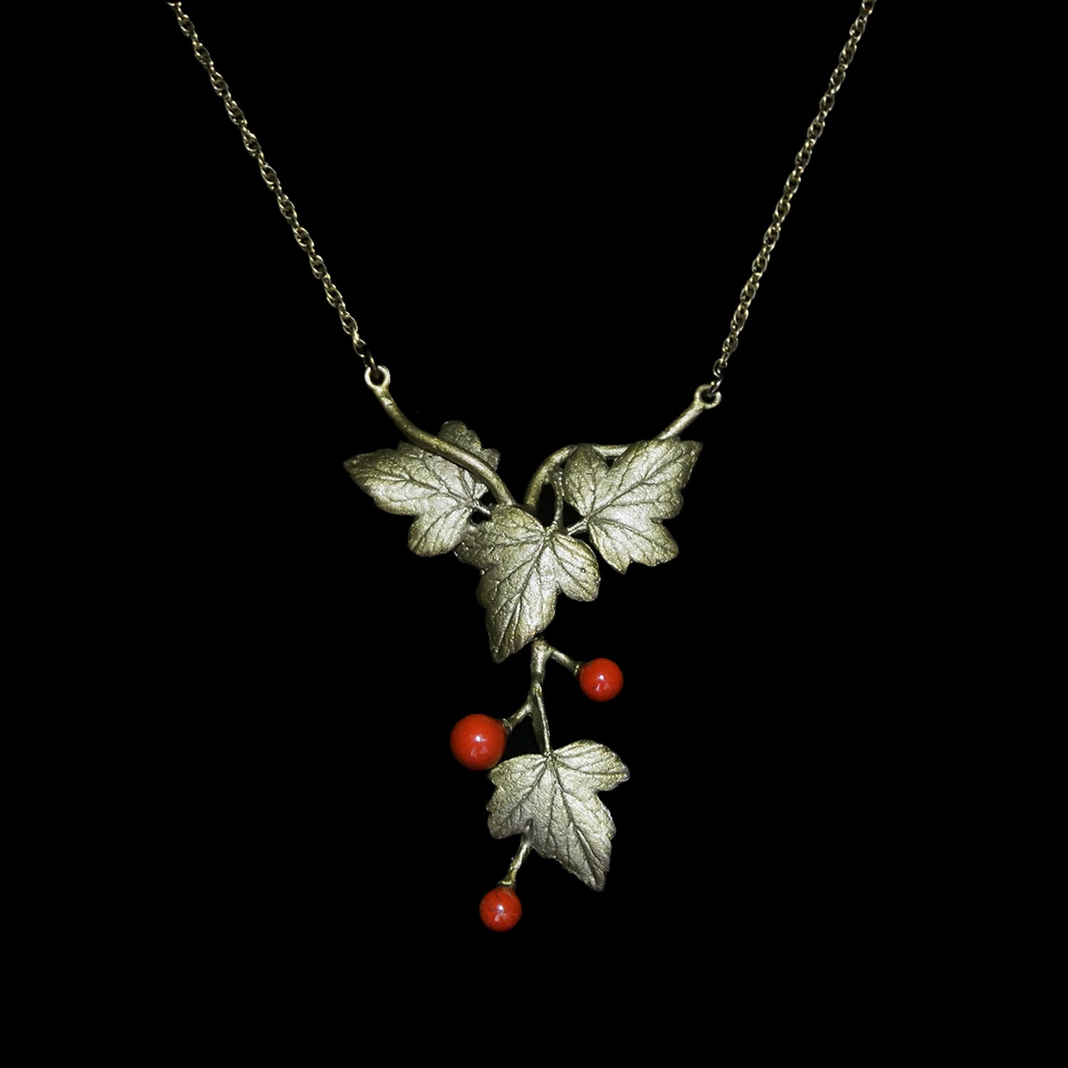 "Goose Berry Necklace - ""Y"""