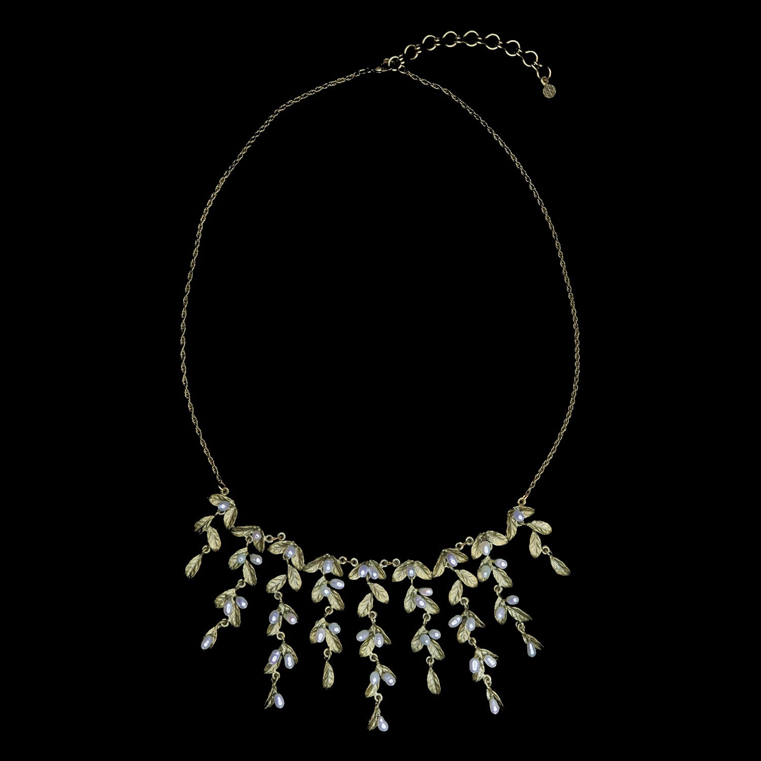 Petite Leaf Necklace - Mini Statement