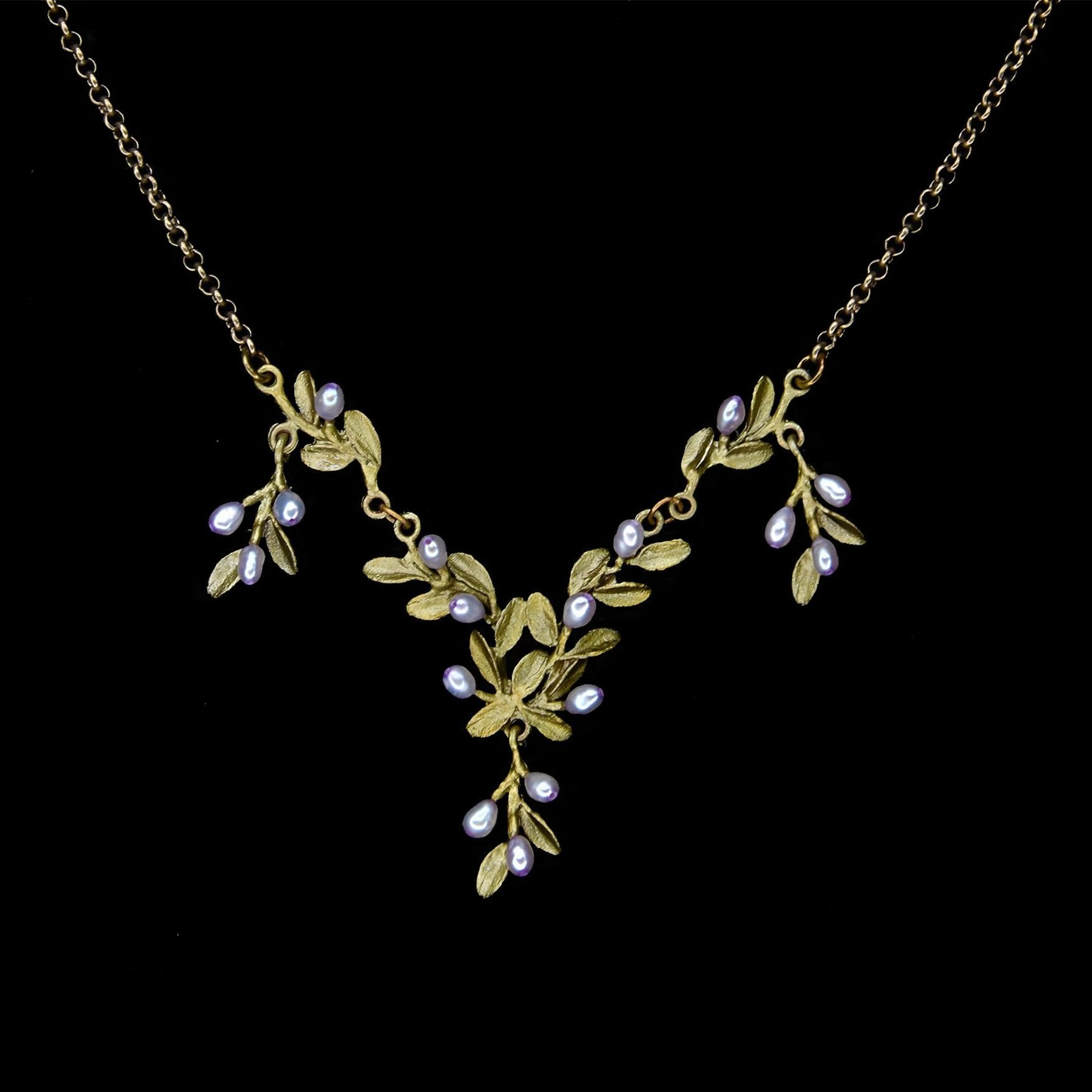 Flowering Thyme Necklace - Drop