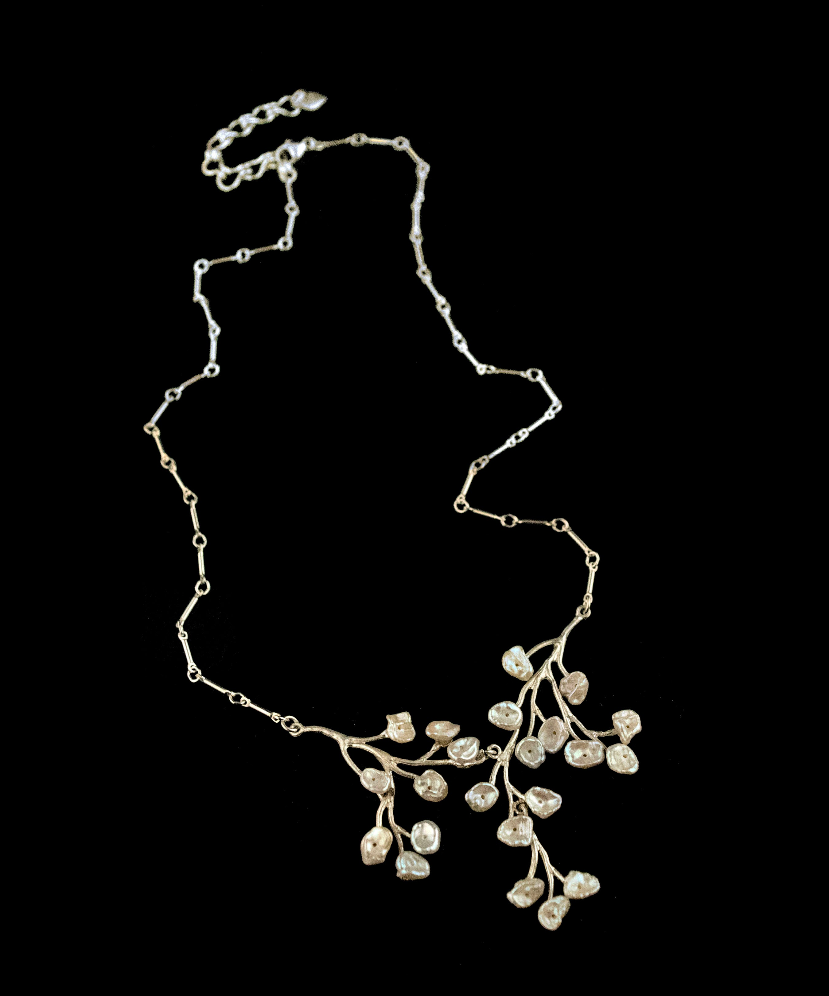Fine Baby's Breath Necklace