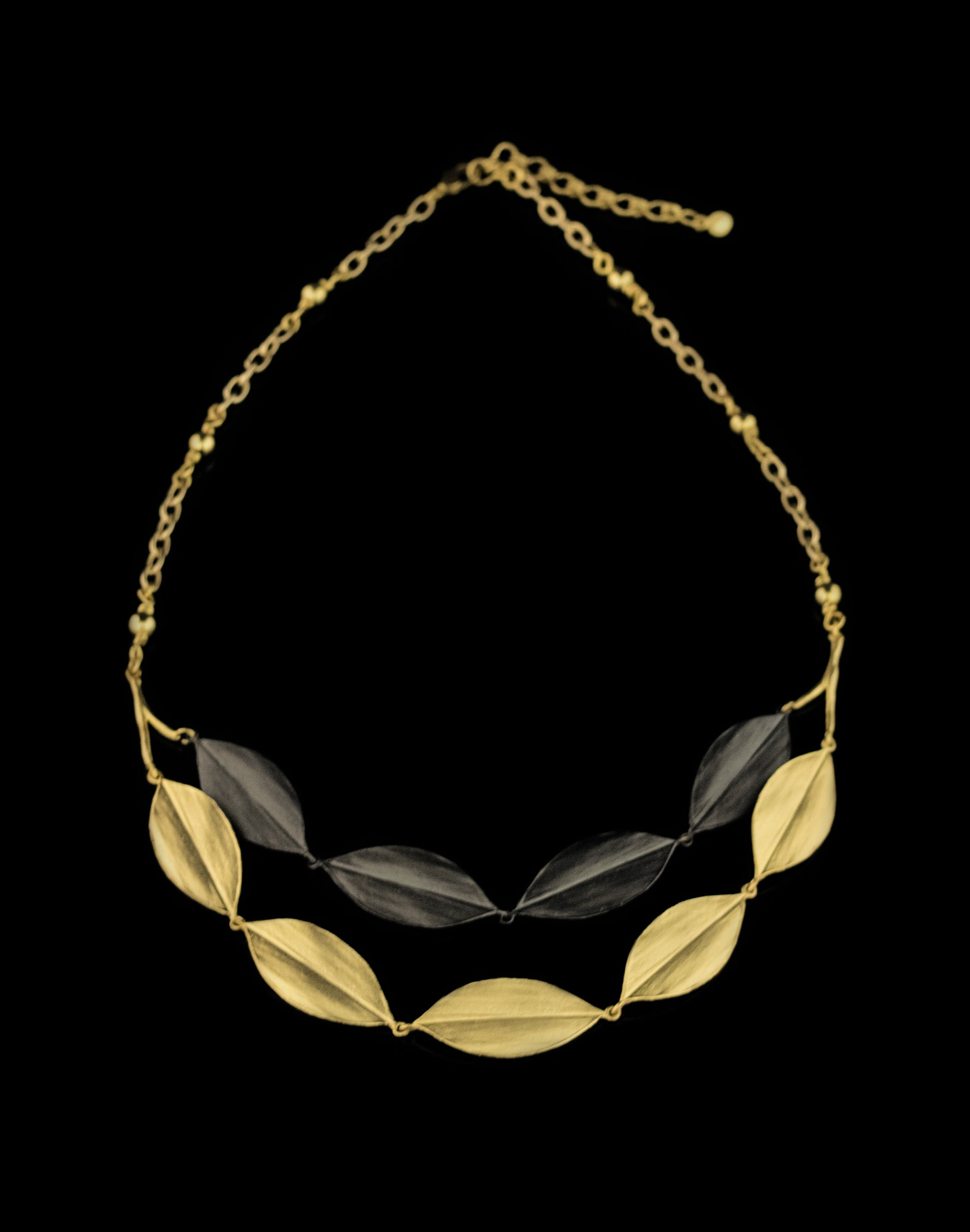 Cordyline Double Layer Necklace
