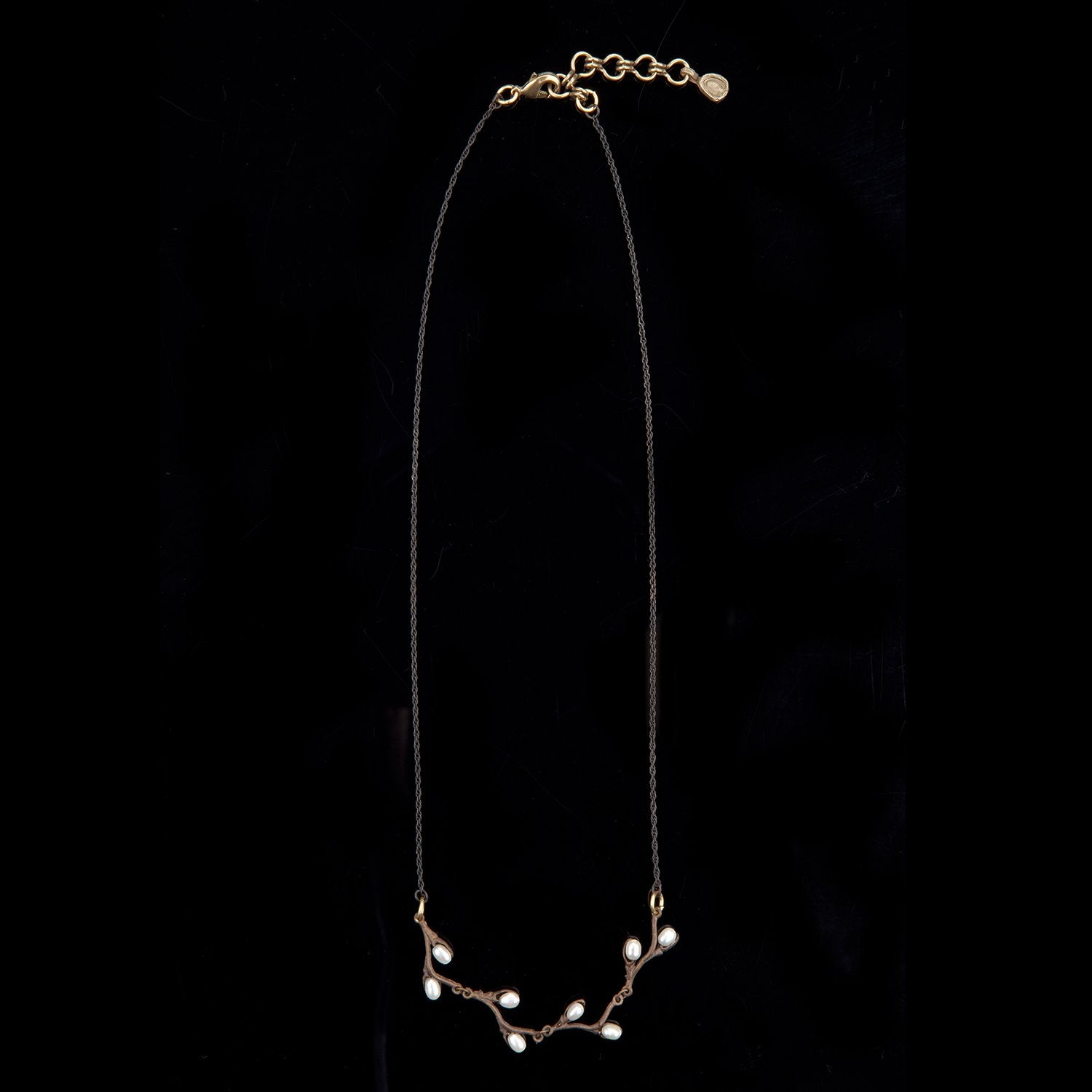 Pussy Willow Necklace - Contour Chain