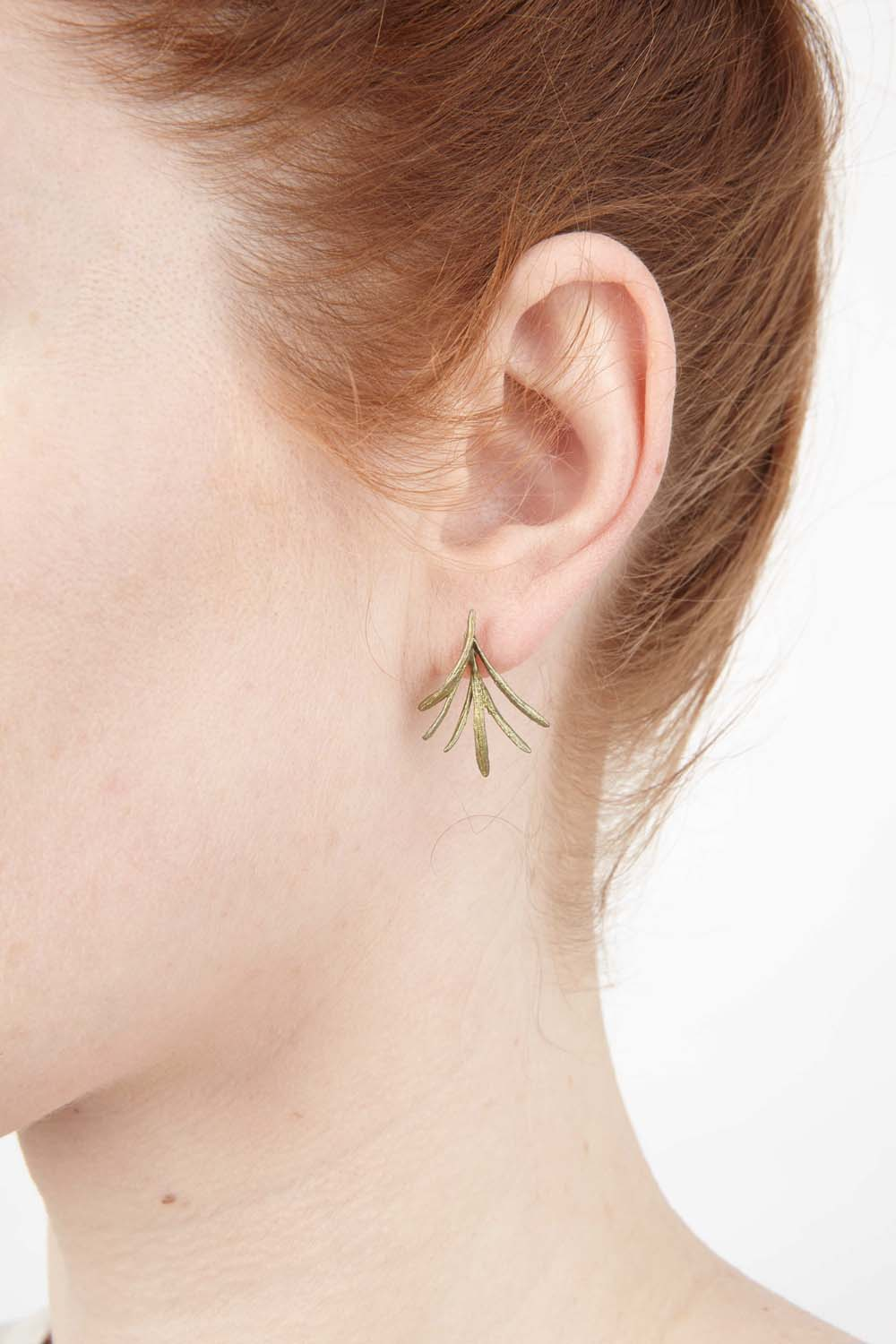 Petite Herb - Rosemary Post Earring