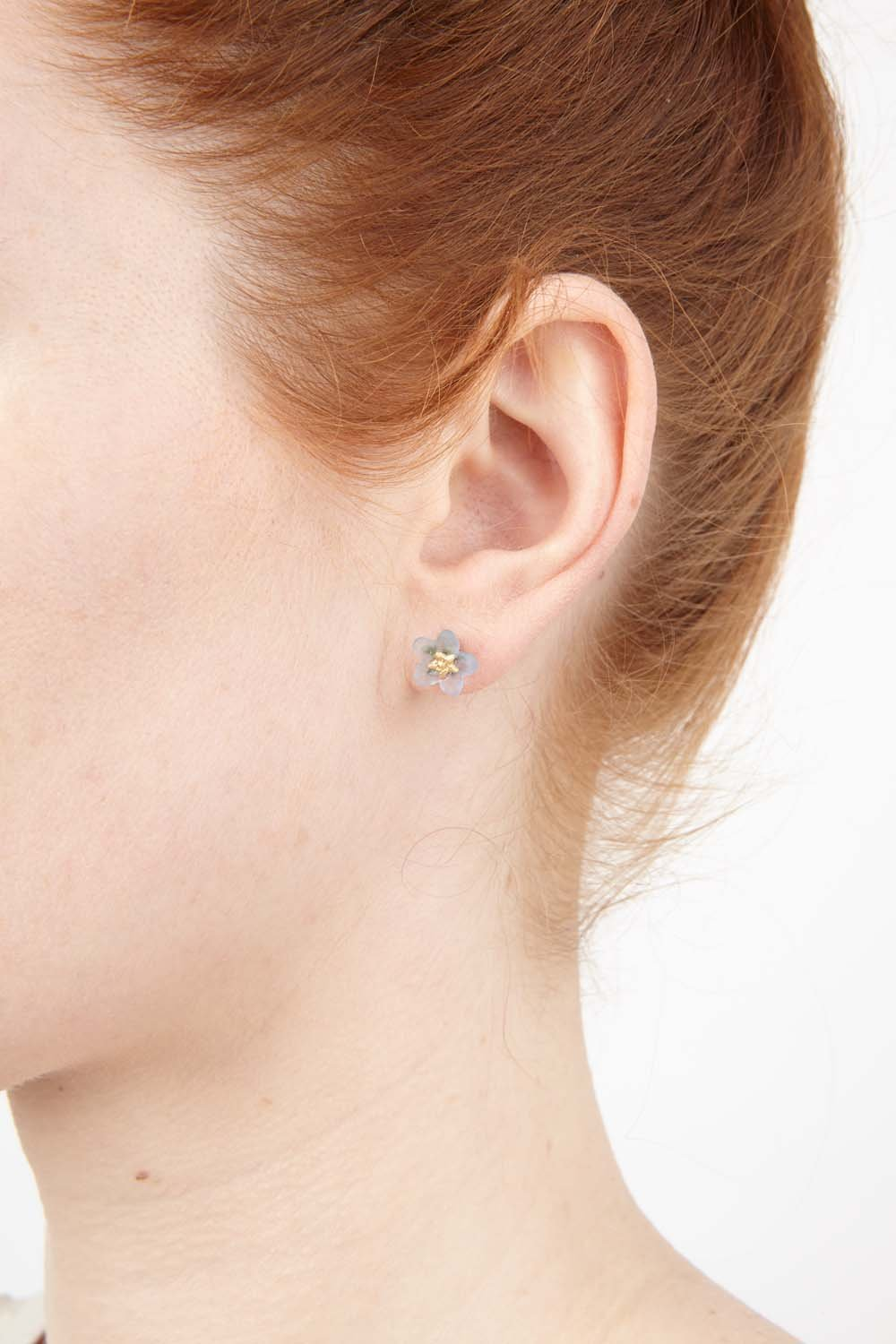 Forget Me Not Earrings - Petite Post