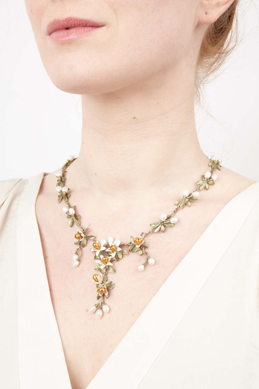 Orange Blossom Necklace - Flowers