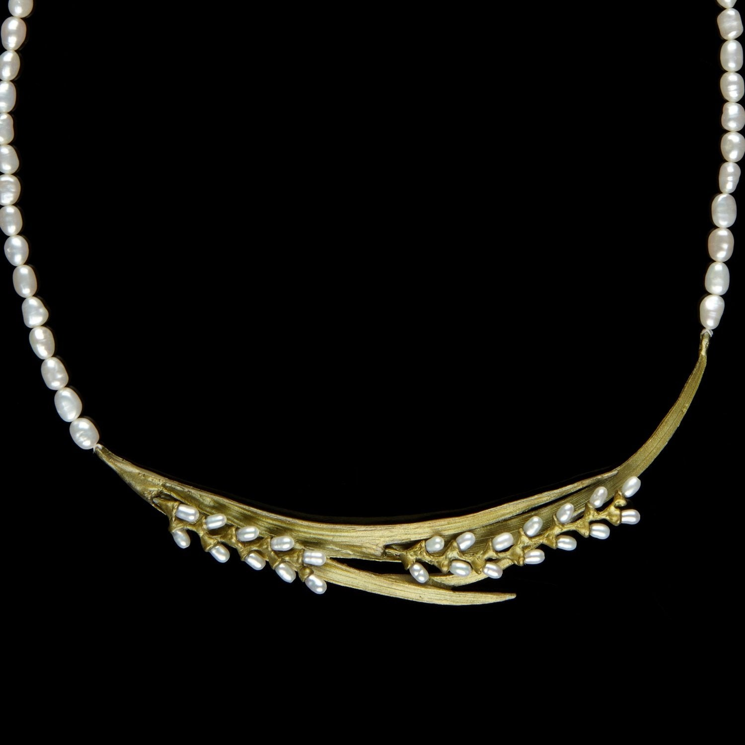 Rice Necklace - Pearl