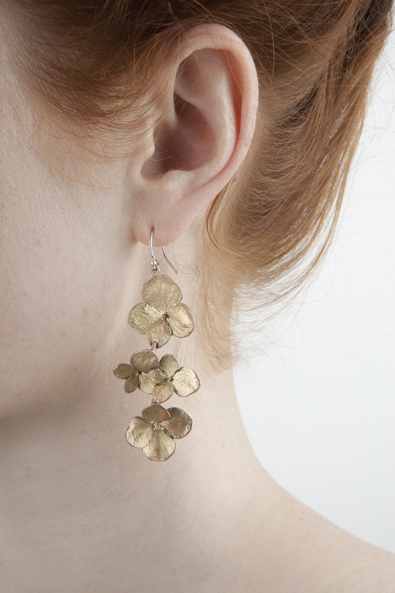 Hydrangea Earrings - Shower