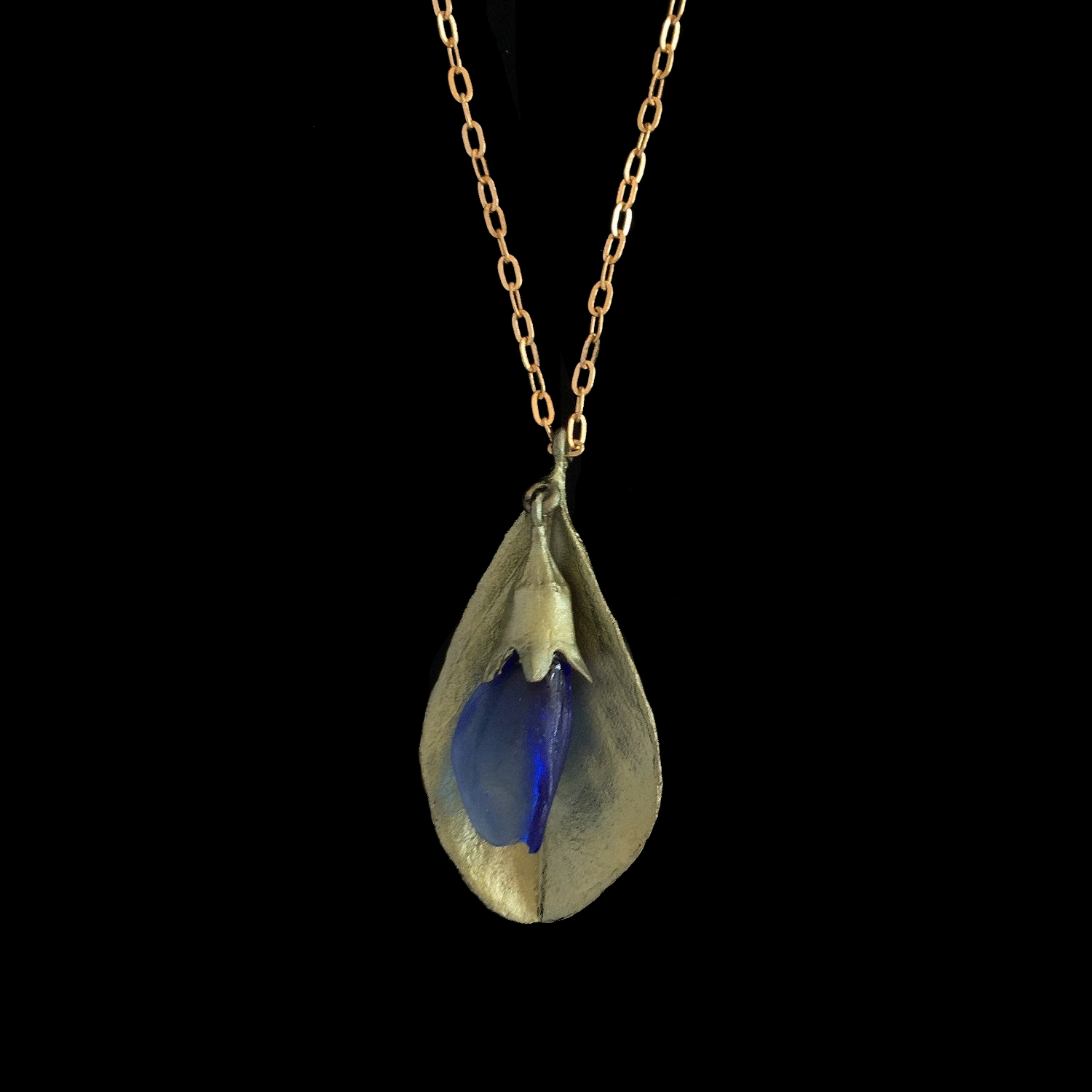 False Indigo Pendant - Glass Pendant