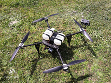 Hybrid (Gas-Electric) Drone, high endurance aircraft