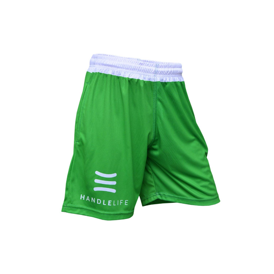 Handlelife Shorts - Green & White