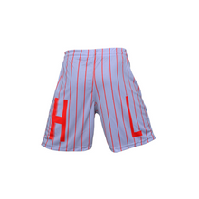 Load image into Gallery viewer, Handlelife Shorts - Grey - Red Stripe