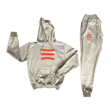 Load image into Gallery viewer, HandleLife Hoodie Suit - Grey/Red