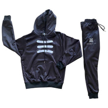 Load image into Gallery viewer, Handlelife Hoodie Suit - Black/White