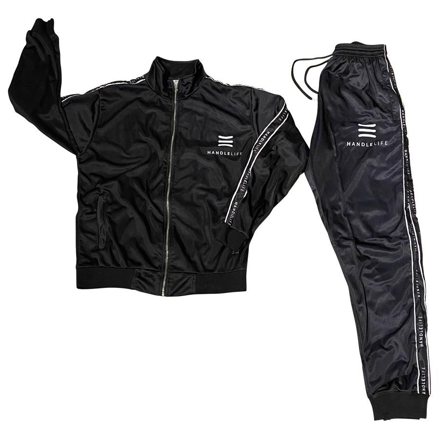 HandleLife Track Suit - Black/White