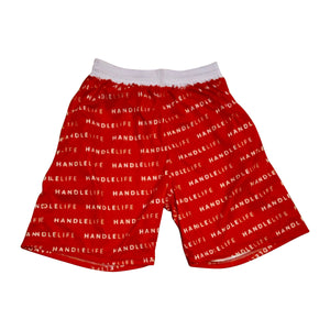 Handlelife All Over Shorts - Red