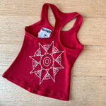 Adults Red singlet