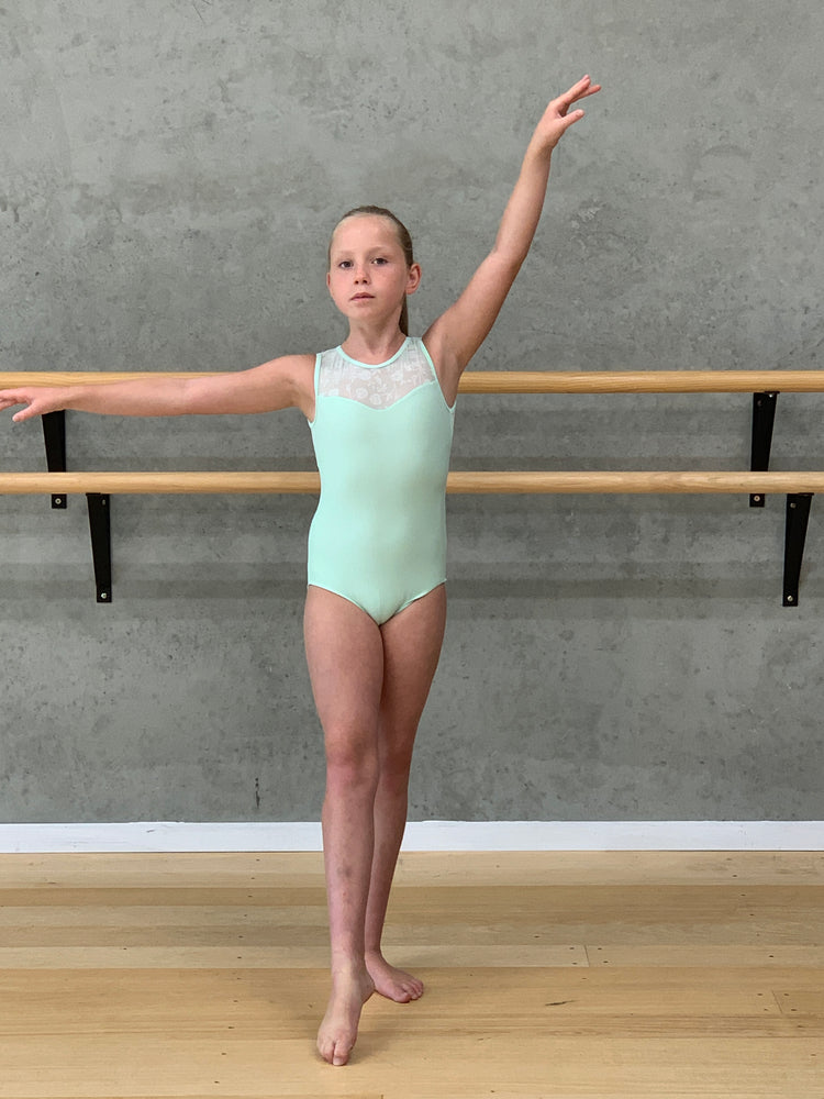 Majeste Mint leotard
