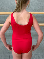 Red dance247 leotard