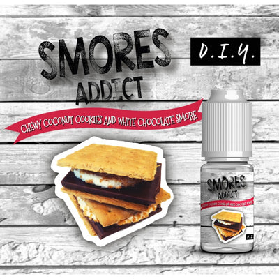 Smores Addict - Aroma Chewy Coconut Cookies and White Chocolate 10ml