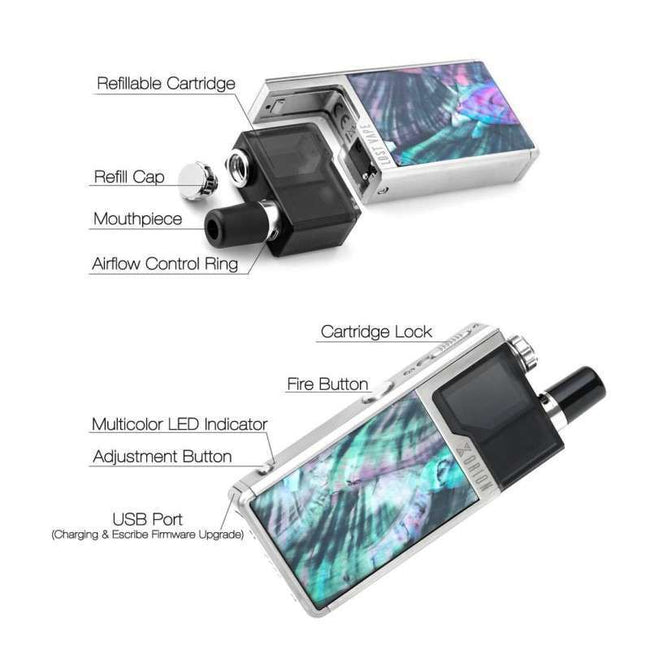 Lost Vape - Orion KIT DNA Metal Oean Scallop
