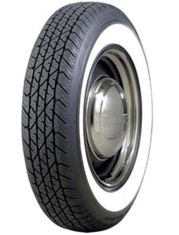165/80/15 wide whitewall radial tyre - Nielsen Auto
