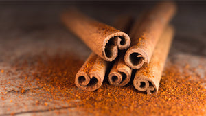 cinnamon (Cinnamomum verum) sticks and powder