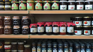 Health from Europe Jams on shelf at Gourmet Laurier Montreal Quebec