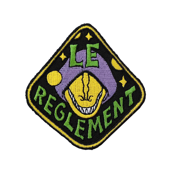 Lizard World Patch