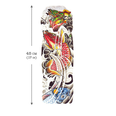 Koi Carp & Dragon Sleeve