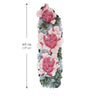 Peony Flowers Sleeve Arm temporary tattoo