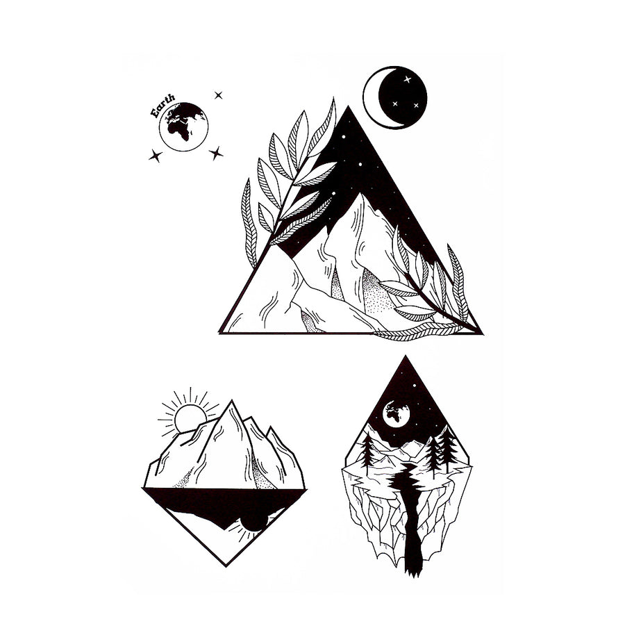 Graphic Mountains