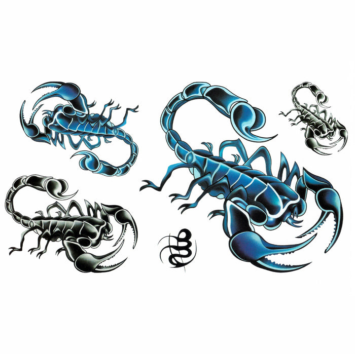 Temporary Tattoo Scorpio