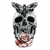 Temporary Tattoo Skull Rose & Butterfly
