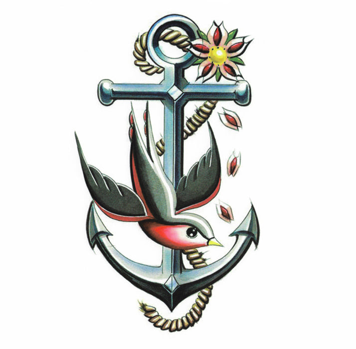 Anchor & Swallow Bird