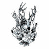 deer temporary tattoo inkotattoo