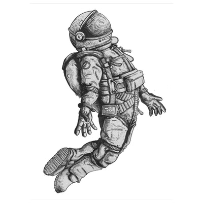 Temporary Tattoo Inkotattoo Astronaut