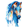 Watercolor Horse Temporary tattoo Inkotattoo