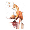 Fox Temporary Tattoo Inkotattoo Watercolor