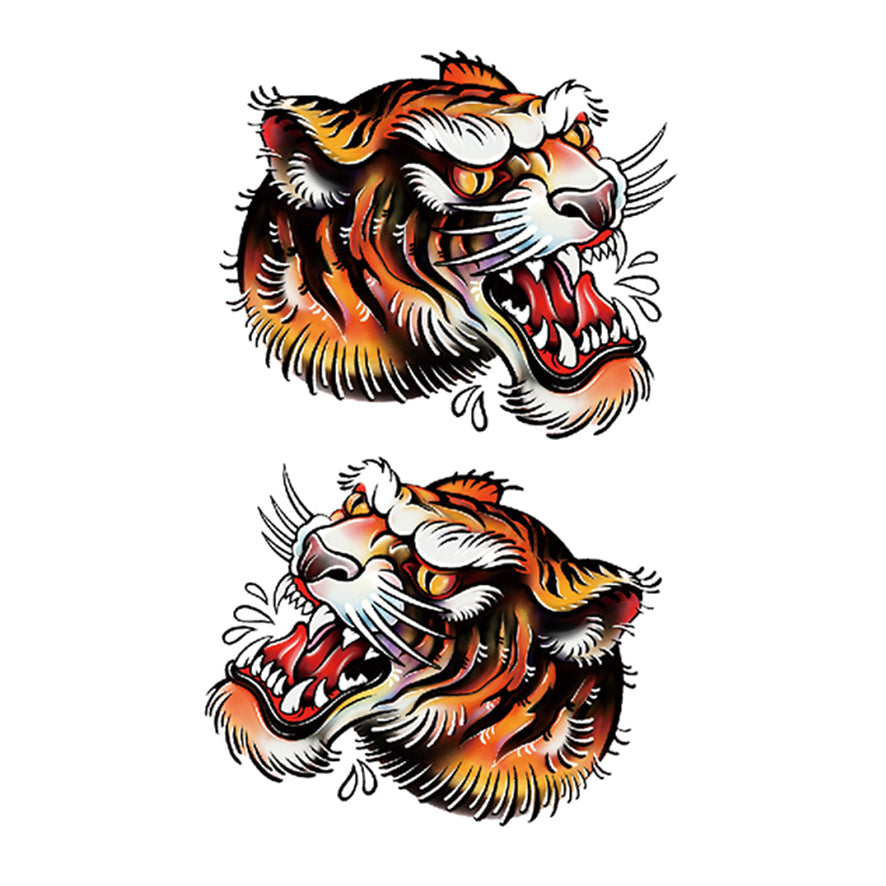 Old School Tiger (2pcs)