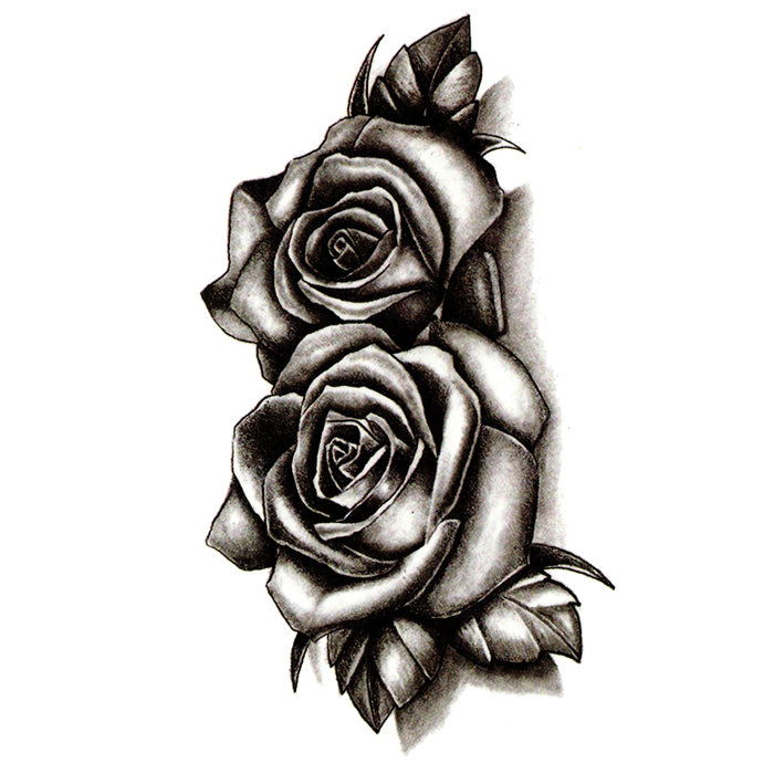 Inkotattoo Temporary Tattoo Rose Black Roses Inkotattoo Dropkick murphys rose tattoo from the album signed and sealed in blood directed by: black roses