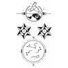 Star Temporary Tattoo Inkotattoo